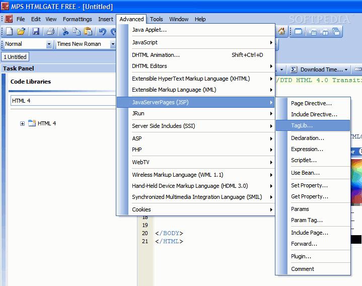 Tải MPS HTMLGate 12.2.0 - Hỗ trợ lập trình Web miễn phí