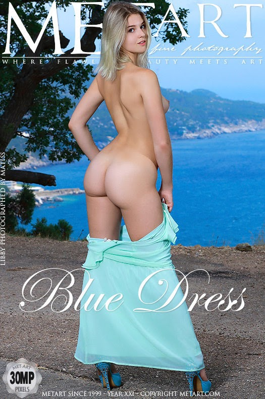 [Met-Art] Libby - Blue Dress - idols