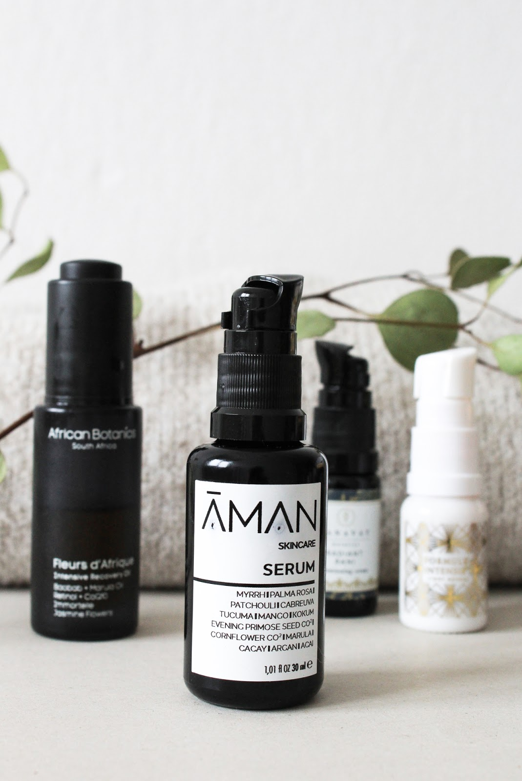 Emanufaktur Aman Skincare Serum Made in Italy Organic Vegan