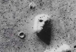 Wajah Manusia Di Planet Mars