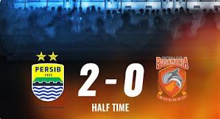 HT: Persib Bandung vs Borneo FC 2-0 Highlights