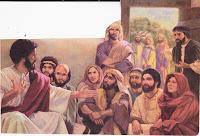 Resultat d'imatges de jesus, la mare i els parents