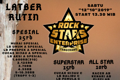 Latber Rutin Rockstars Enterprise sabtu 12/10/2019