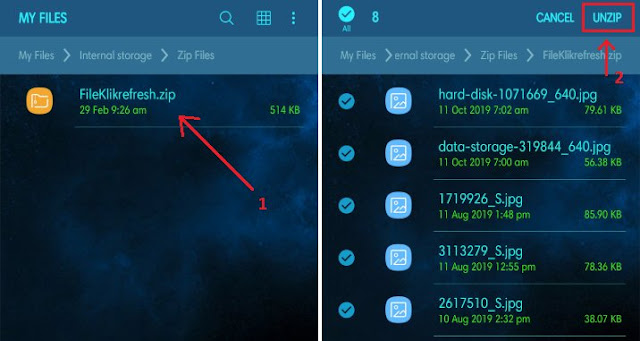 Cara Ekstrak File ZIP di Android Tanpa Aplikasi 1