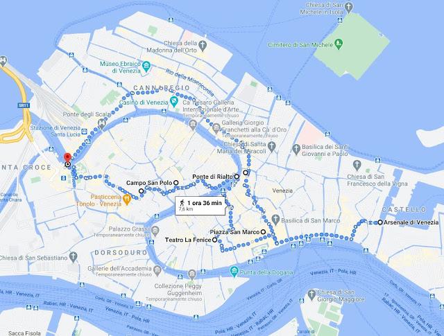 Cosa vedere a Venezia in un giorno: Itinerario