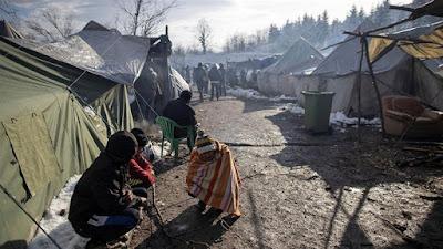 Kamp Imigran Bosnia