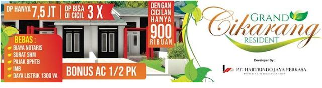 Grand Cikarang Residence Perumahan Subsidi Baru Cikarang Bekasi