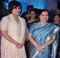 Sushma Swaraj, Biography, Profile, Age, Biodata, Family, Husband, Son, Daughter, Father, Mother, Children, Marriage Photos.