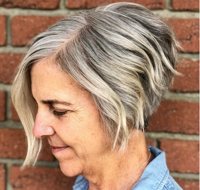 2022 haircuts for women over 50