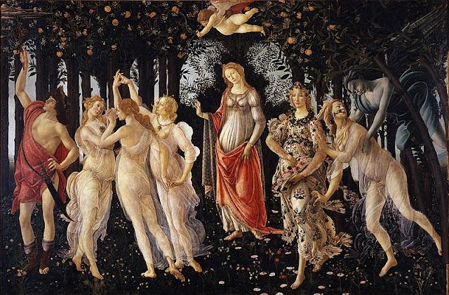Sandro Botticelli Primavera Painting