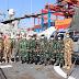 Satgas MTF TNI Konga XXVIII-L/UNIFIL KRI Sultan Hasanuddin 366 Terima Kunjungan Tim Wasev Ops Mabes TNI