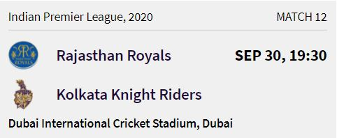 rajasthan-royals-match-3-ipl-2020