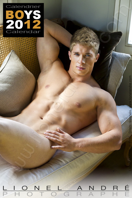 Andy • 'BOYS 2012' Calendar by Lionel André