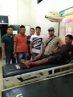Bongkar Rumah Tetangga, Kaki Surya di Ditembak