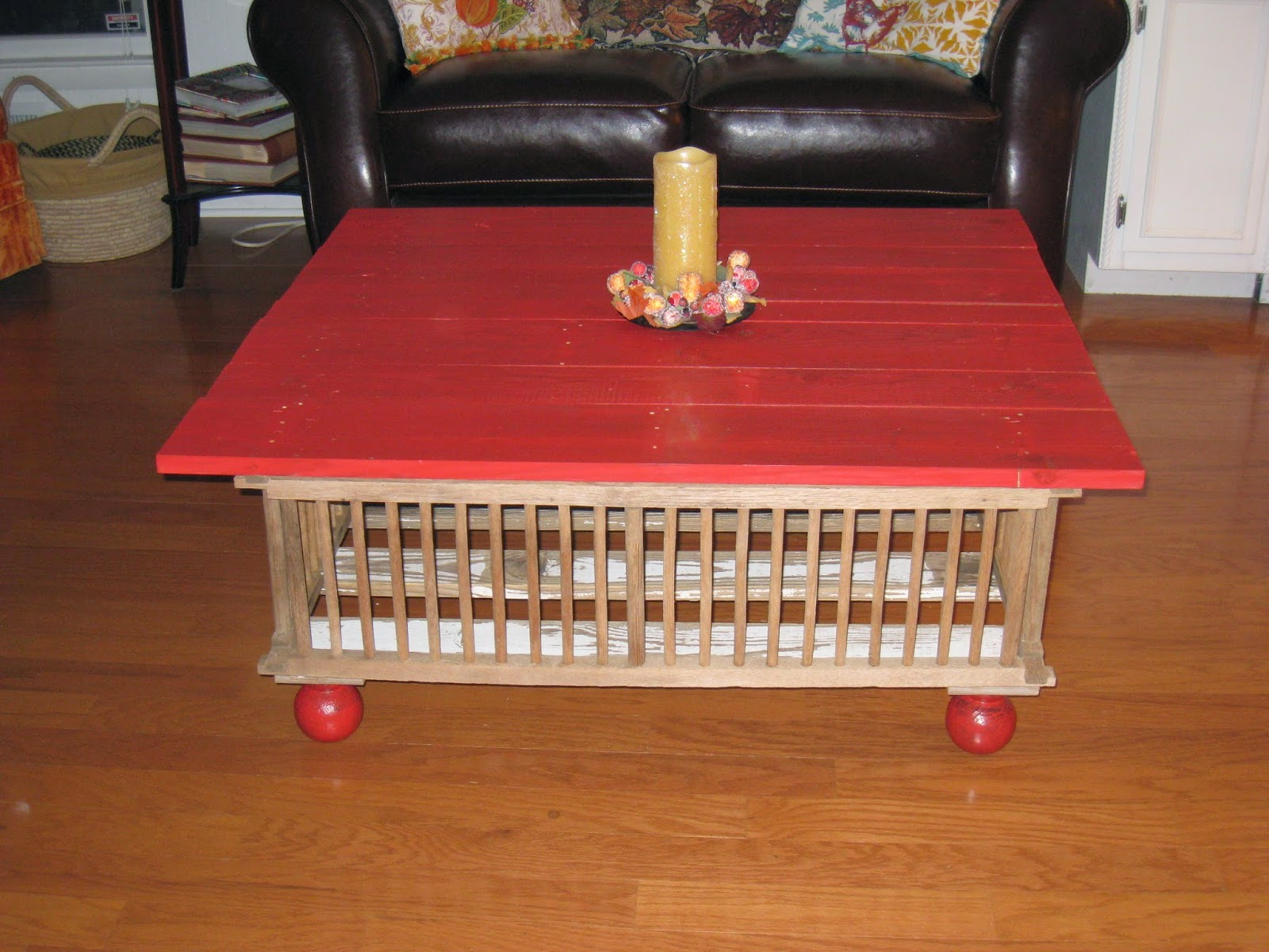 Repurposed For Life FROM CHICKEN CRATES TO COFFEE TABLE