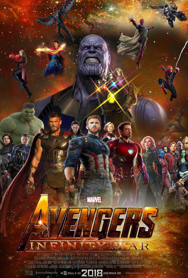 Avengers: Infinity War ( 2018 )
