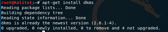 Install DKMS