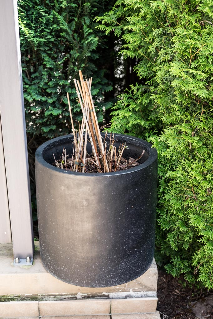 DIY für den Garten: Halterung für Pflanzstäbe bauen by fim.works Lifestyle Blog