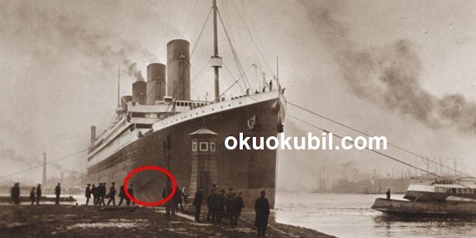 Titanic'in  (Okyanus Kraliçesi) yeni resimleri Ortaya Çıktı Ekim 2019