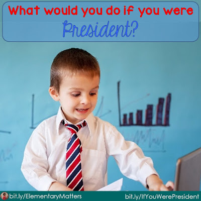 What would you do if you were president? I asked my students this question, and their responses were absolutely delightful!