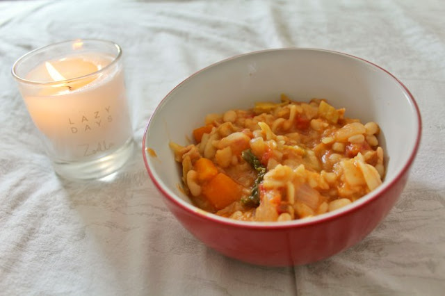 Autumnal minestrone soup recipe