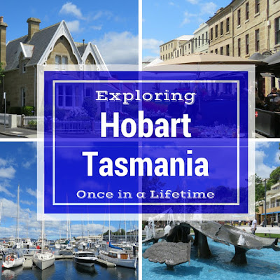Exploring Hobart, Tasmania on a Weekend City Break from Sydney Australia