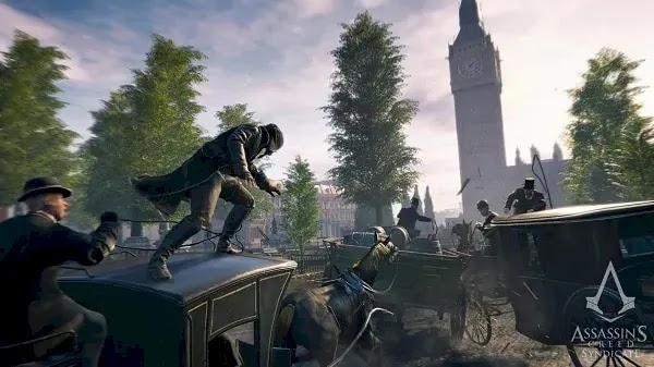 Sequence List of the Assassin's Creed Syndicate