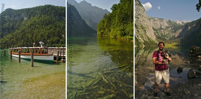 lago na Baviera, sul da Alemanha