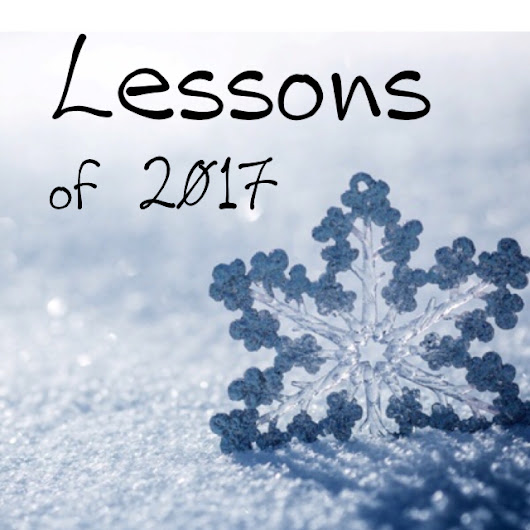 Top 5 Lessons from 2017