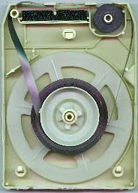 8-Track Image:  Public Domain:  http://en.wikipedia.org/wiki/File:8track_inside.JPG