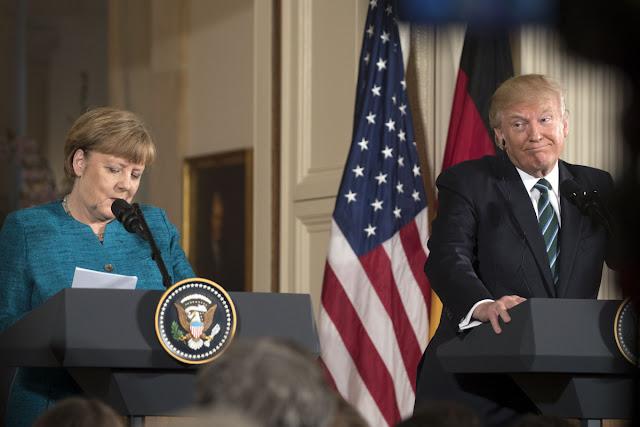 """""""Τραμπ σε Μέρκελ: I am the boss"""""""