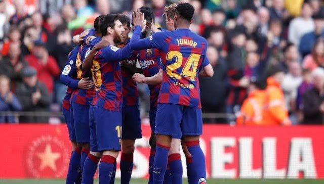 قائمة برشلونة لمواجهة فالنسيا في الدوري الإسباني