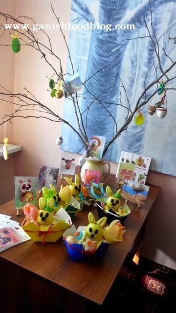easter bunny fruit crafts