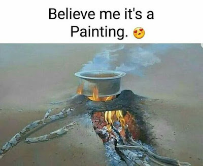 Painting That Looks Real