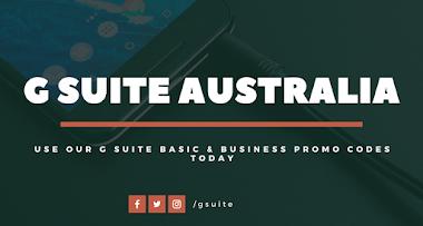 Verified G Suite Promo Code Australia (2020 Coupons)