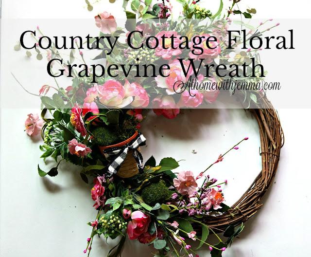 country, cottage, handmade, beautiful, feminine, pink, wreath