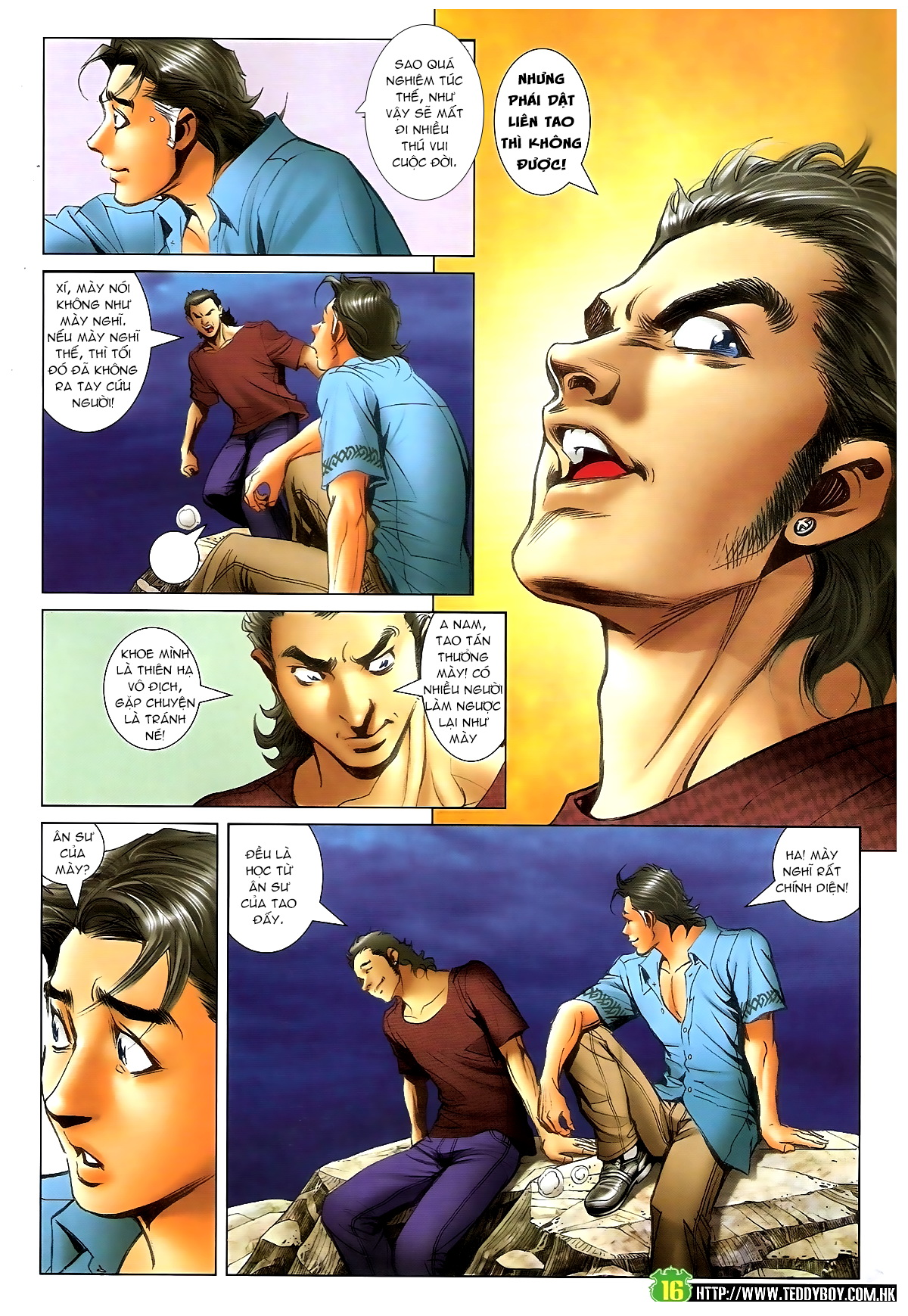 Người Trong Giang Hồ - Chapter 1395: Phiên bản Đại Phi - Pic 13