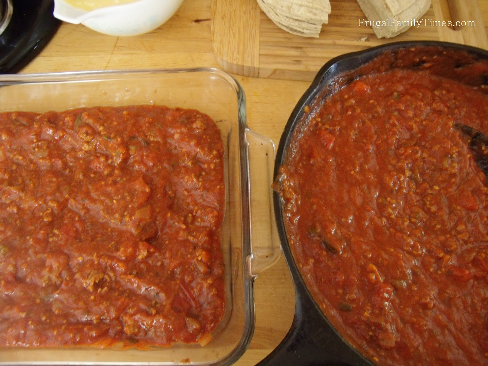 Easy Healthy Mexican Lasagna Frugal Family Times