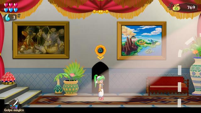 Asha in Monster World - Castillo de Rapadagna
