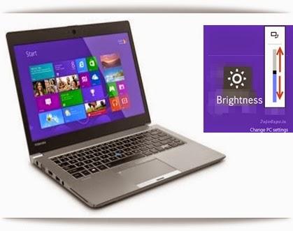 Control Brightness of Laptop Using Function Keys After Installing Windows 8.1