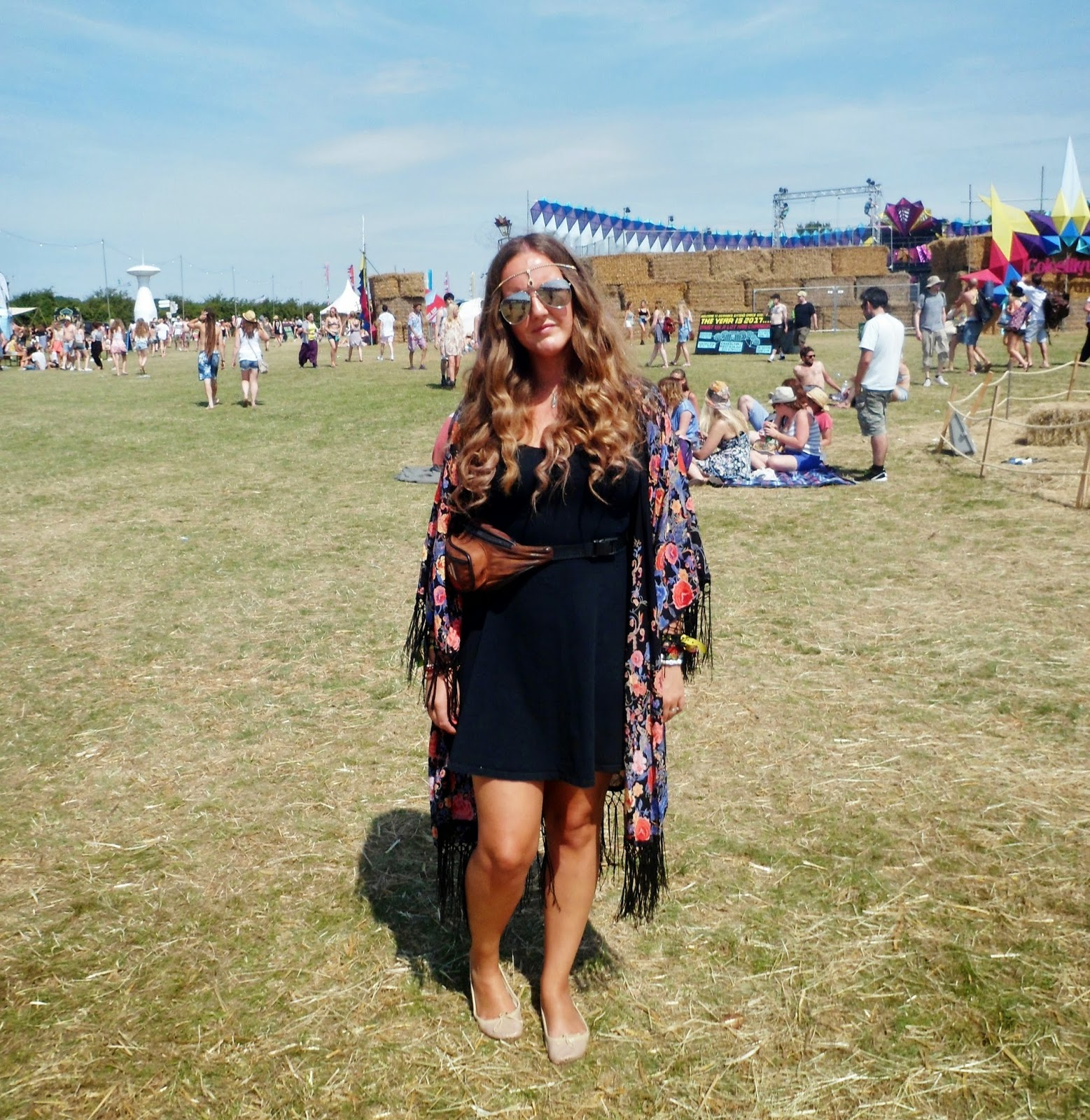 outfit at Secret Garden Party 2014