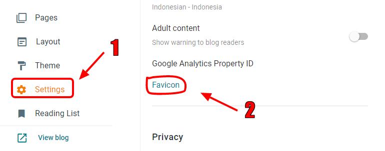 Cara pasang Favicon Pada Blogspot Terbaru