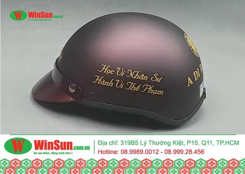 Những loại nón bảo hiểm nữ chất phát nhất