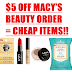 $5 Off Beauty Products on Macy's!! NYX Eye Pencil Only 50 Cents, 2 Pack Burt's Bees Lip Balm $1.29!! Burt's Bees Micellar Cleansing Towelettes $1, NYX Concealer $1, Lip Oil $1 and Many More Great Deals!!
