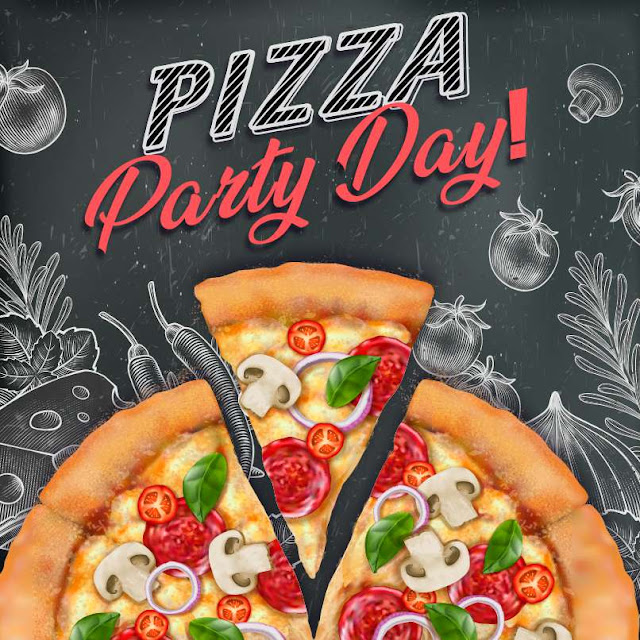 National Pizza Party Day Wishes Awesome Picture