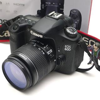 Kamera Canon EOS 60D Second di Malang