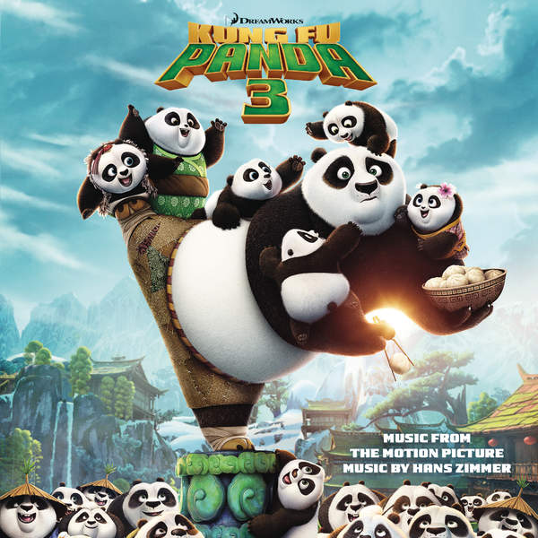 Hans Zimmer - Kung Fu Panda 3 (Music from the Motion Picture) Cover