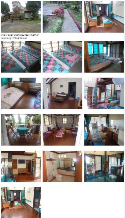 Villa White Tower Lembang - Villa 4 Kamar