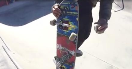 Skaten wie Bart Simpson | Daewon Song mit dem derbsten Skatetrick - WTF?!
