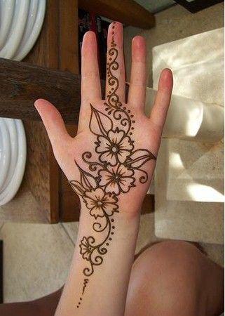 Latest Basic Mehendi Designs For Bride Modern Full Hand Palm Design